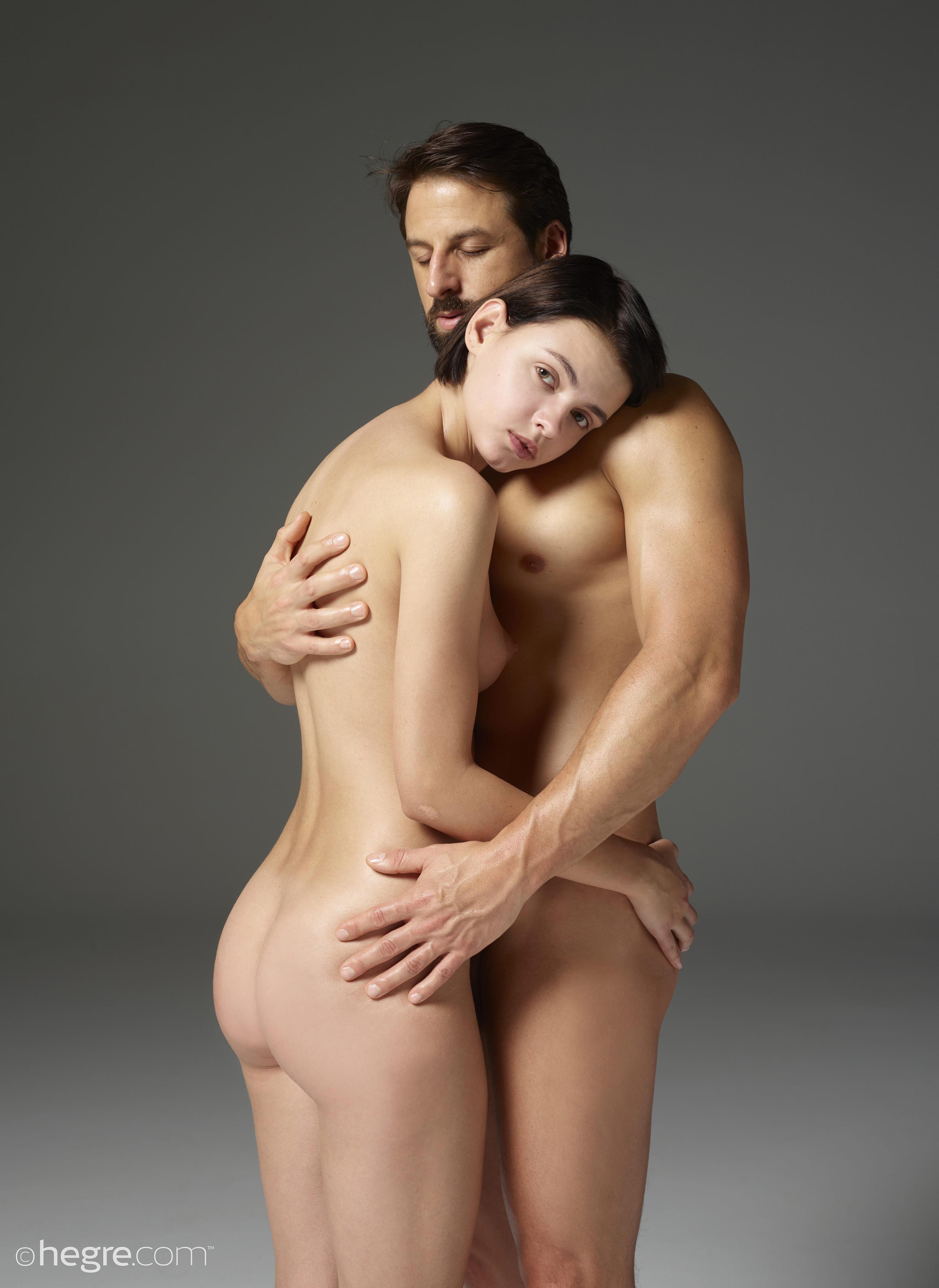 Шикарная Фотосессия Обнаженной Пары Для Порно Издания