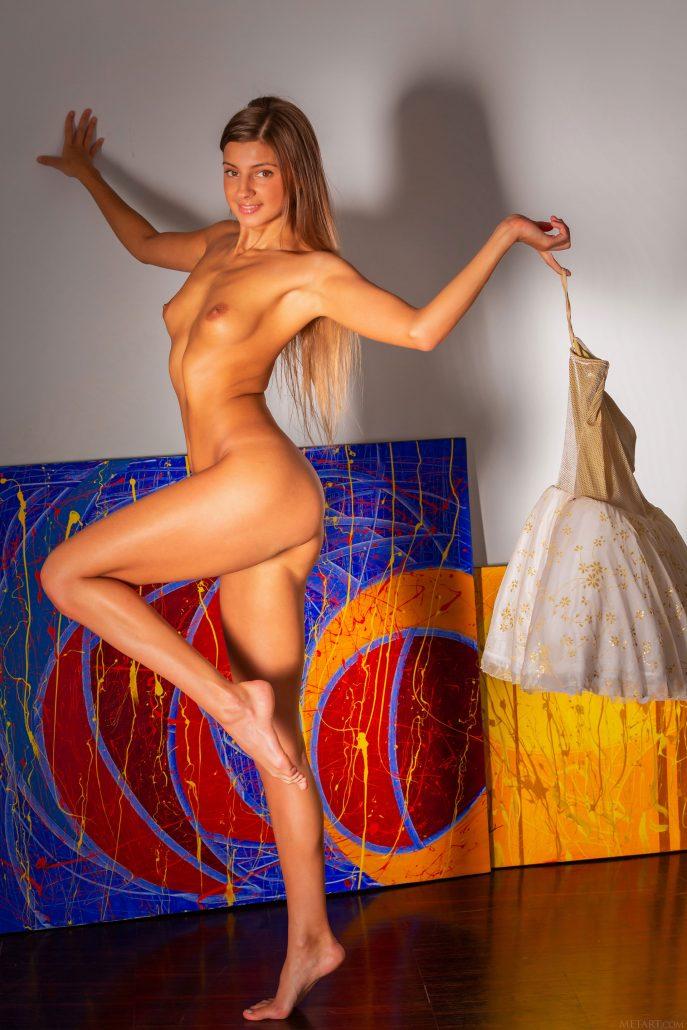Голая Маруся девушка из Санкт-Петербурга.