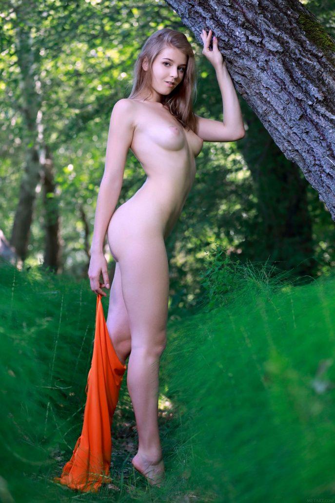 Голая дочь лесника соблазняет лесорубов.
