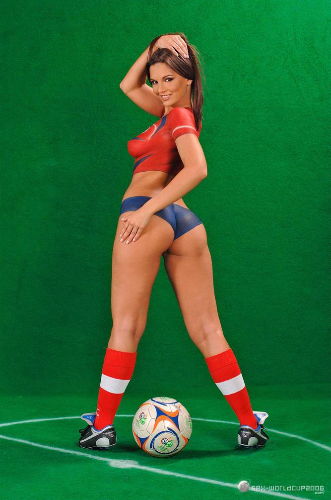 American football girls naked