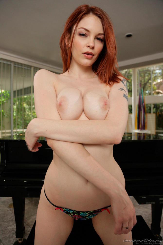 Американская рыжая порно актриса