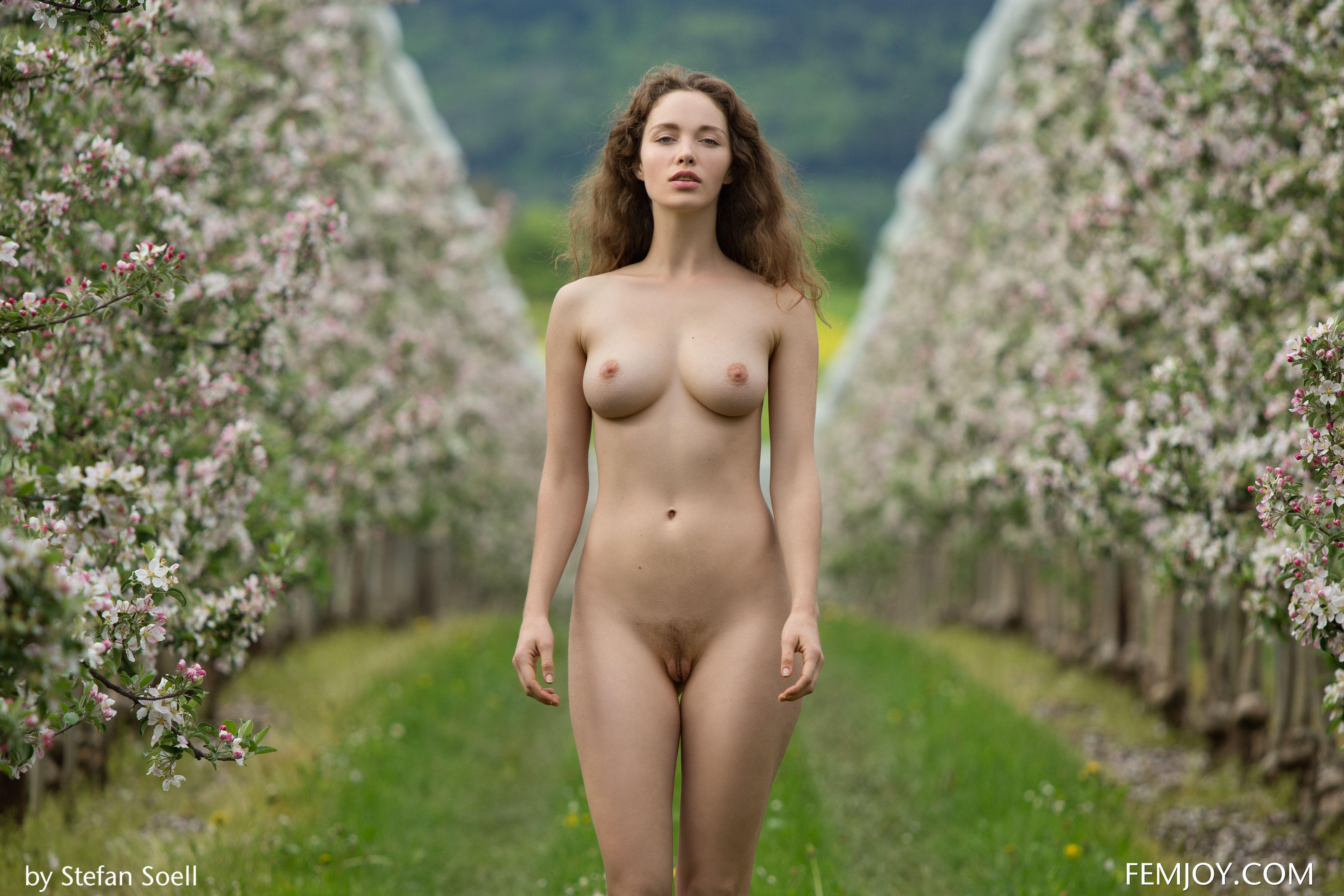 Nude beauty outdoors compilation