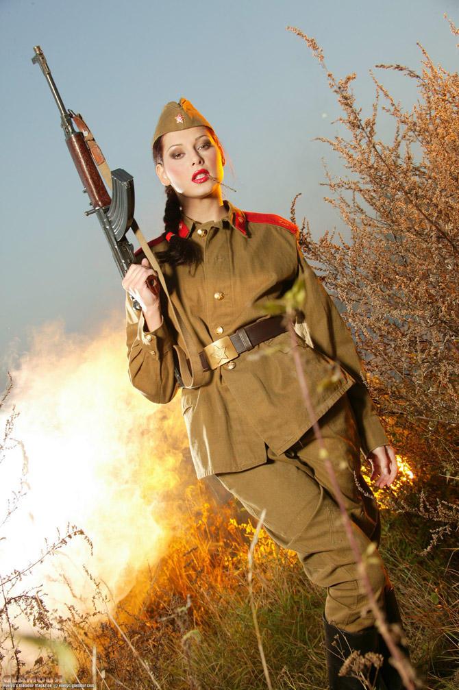девушку в военной форме ебутся русские баб статистика