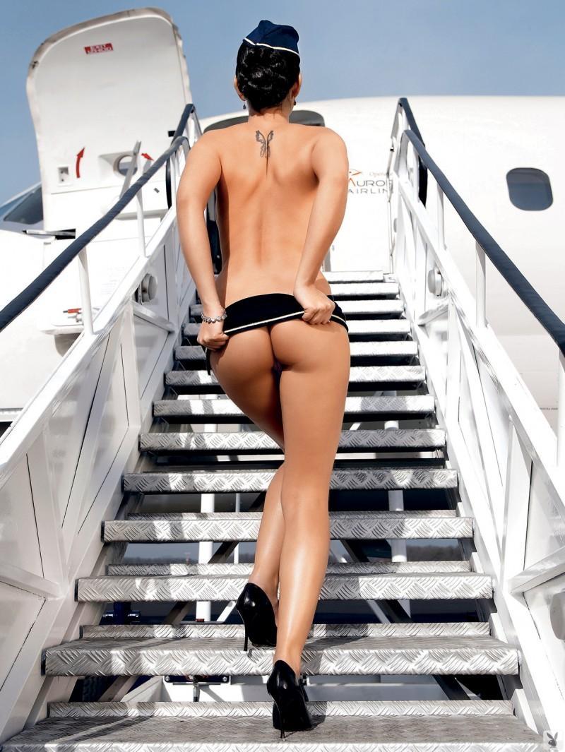 Эро фото красивых стюардесс #9