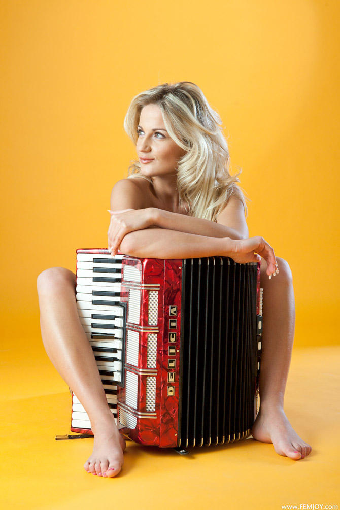 The World's Sexiest Accordion Player