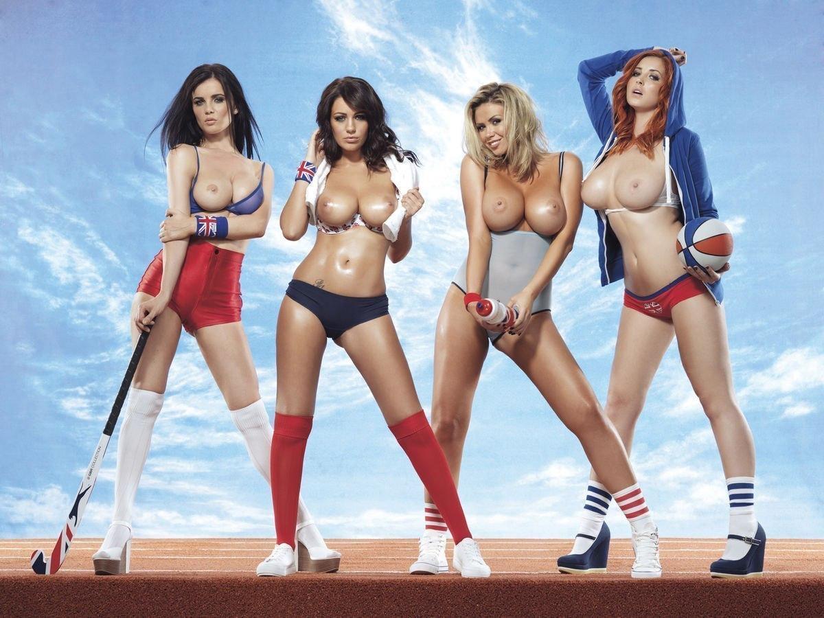 Beautiful Nude Muscle Girls